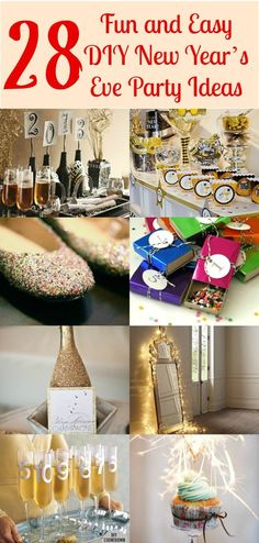 28 Fun and Easy DIY New Year's Eve Party Ideas – DIY & Crafts