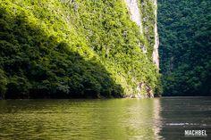 Cañón del Sumidero, #Chiapas, #Mexico  Imagen desde Flickr, por machbel