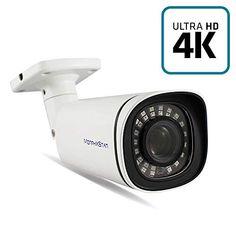 Bullet Camera, Ip Camera, Security Surveillance, Security Camera, 4k Uhd, Fujifilm Instax Mini, Night Vision, Indoor Outdoor, Sony
