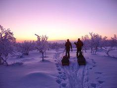 Talviretkeily - perusjuttuja aloittamiseen.  #Retki  #Retkeily  #Talvi  #Ulkoilu