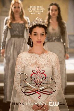 "Adelaide Kane as Mary, Queen of Scots in the #Reign Season 1 episode, ""Consummation."""