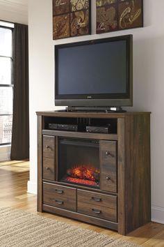 Ashley Furniture Annilynn Media Chest w/Fireplace Option B261-49 ...