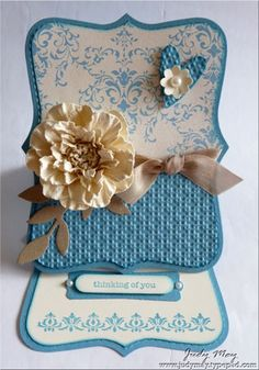 Such a beautiful card...love the color combo