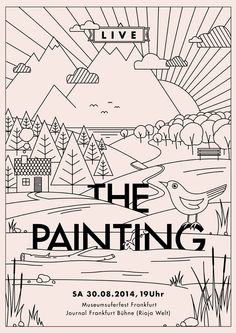 the painting – Gigposter