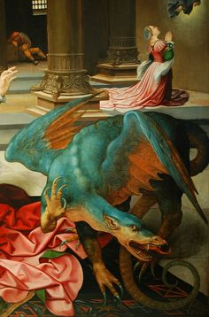 [ R ] Jan Rombouts - St.Mary with the Dragon - Detail