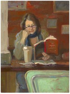 Sally Strand - A Good Read Repinned by Ellery Adams  www.elleryadamsmysteries.com