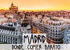 If you only get a chance to visit one city in Spain, Madrid should be at the top of your list. Since Madrid has been the capital of this fasc. Happy City, European City Breaks, Sitges, By Train, Best Cities, Spain Travel, Day Tours, Prague, Singapore