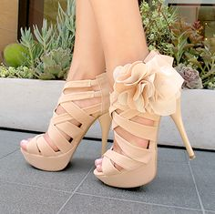 Marcella Nude Heels - I Love Shoes, Bags  Boys