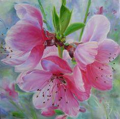 Akut szerelem virágot. Kreativitás Helena Island