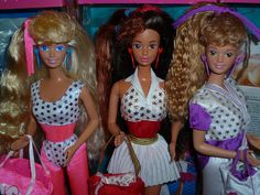 1989 Barbie and the All Stars Barbie, Teresa & Midge - All Malaysia by Patty Is Totally Addicted To Barbie, via Flickr