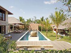 Villa Sakti, Luxury House in Seminyak, Bali Beach Bungalow Exterior, Bali Luxury Villas, Beach Bungalows, Luxury Accommodation, Luxury Holidays, Luxury Lifestyle, Tropical, Modern, Contemporary