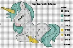 This cross stitch funny is undeniably an interesting style construct. Cross Stitch Horse, Unicorn Cross Stitch Pattern, Unicorn Pattern, Cute Cross Stitch, Cross Stitch Animals, Cross Stitch Charts, Cross Stitch Designs, Cross Stitch Patterns, Cross Stitching