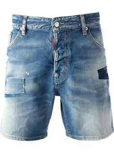 Denim shorts by DSquared2