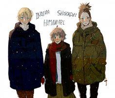 Naruto Gaiden: Himawari, Inojin, and Shikadai
