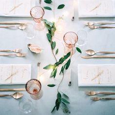 Pantone 2016 Color Inspo via @weddingsparrow  Rose quartz and serenity , just breathtaking !    #Regram via @partysocialuae