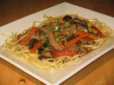 Authentic Pork Lo Mein - Chinese. - i used chicken instead - going to try cutting some of the oil out next time. This does taste like you get it at a chinese resturant or even better!