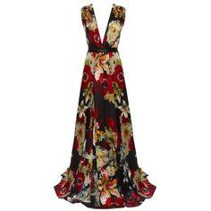 Alice + Olivia Triss Sleeveless Maxi Dress With Leather Waist