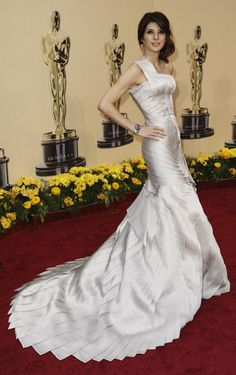 Marisa Tomei Oscars red carpet 2009, Oscars, red carpet, red carpet, dress, gown, evening, night out