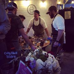 Look what @cityhallbistro is cooking up at @chefsforfarmers! #victorypark #streetfair #dallasdweller #lifestylistlist #foodblogger