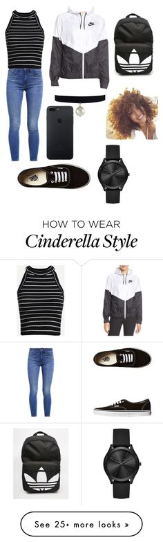 """Swag!"" by genesiscarcamo on Polyvore featuring Levi's, adidas, Vans, NIKE and Michael Kors"
