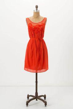 anthropologie sangeet dress - love the detail!