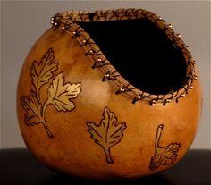 Gourd Art Ideas | ... Moon Designs | Art Gallery | Gourds, Furniture, Yard Art on a Stick