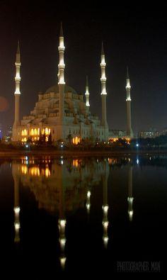 sabancı central mosque by photographer man on 500px,,,Adana,Turkey
