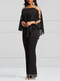 Fashion Tv, Fashion Pants, Fashion Outfits, High Fashion Dresses, Glam Dresses, Curvy Outfits, Casual Outfits, Jumpsuits For Women, Blouses For Women
