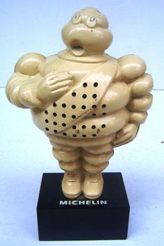 Vintage Michelin Man Radio