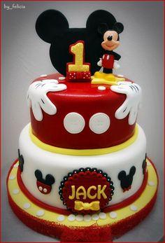 Disney Mickey mouse cake
