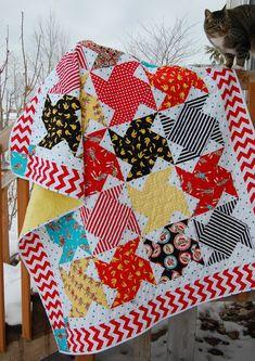 Swing Dance Quilt Pattern by fresh cut quilts downloadable pdf Quilt pattern- FQ, Fat Quarter quilt