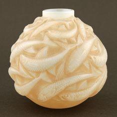 1008 R. Lalique Vase Oleron
