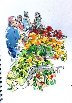 Urban Sketchers Blog - sketches from around the world.
