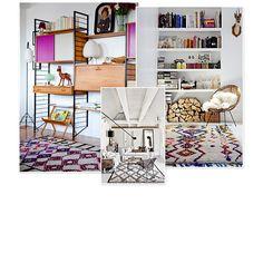 Terriblement tendance, le tapis berbère éclipse tous les autres styles de tapis en ce moment. Noir et blanc ou coloré, il habille presque toutes les pièces de notre intérieur pour lui donner une ambiance cosy. Avant d'investir et d'en shopper un, découvrez ces photos d'inspirations dénichées sur Pinterest.