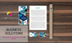 Full package #business solutions! Flyers, letterheads, stickers and business cards!