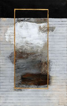 Brita Lanning ... SKYMT (69 x 109 cm) interesting framing composition