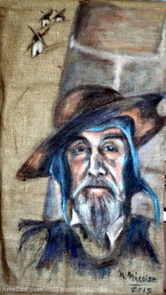Artwork >> Nadine Nicaise >> Don Quixote