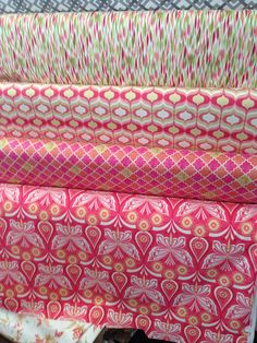 butterfly pink fabric Santo Domingo local store
