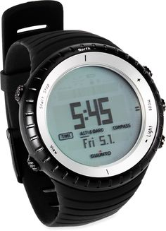 ABC watch. No GPS or HR functions. But it looks cooler and is a lot cheaper.