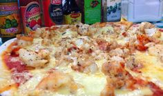 Lobster Pizza - An Isla Holbox, Mexico speciality