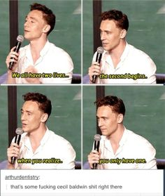 Tom Hiddleston being the real life Cecil from Night Vale for a moment. And now, the weather. (Loki goes all Night Vale. Night Vale, Crossover, Cecil Baldwin, The Moon Is Beautiful, Beautiful Mind, Gorgeous Men, Glow Cloud, Dc Memes, When You Realize