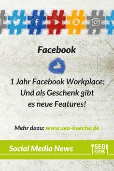 Mit denn neuen Features soll die Arbeit mit dem Facebook Workplace effektiver gestaltet werden. Welche neuen Funktionen das sind, erfahren Sie auf unserem Blog! #facebookworkplace #soialmediamarketing #marketingagentur