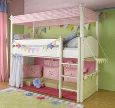 hochbett vorhang - welche Farben passen zu Kinderzimmer ?? (Kinder, nähen)