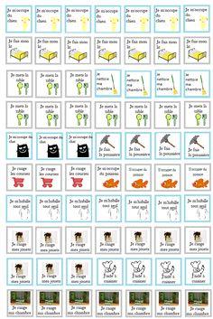 Favoriser l'autonomie de votre enfant : Quelles tâches à quel âge? - Lesapprentisparents Autism Education, Education Quotes, Chore Chart Template, Paint Colors For Living Room, Cleaning Checklist, Educational Activities, Childcare, Diy For Kids, Periodic Table