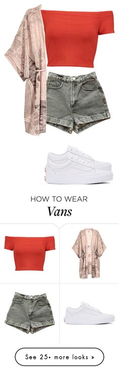 """Untitled #318"" by xoxotiffvni on Polyvore featuring Alice + Olivia, American Apparel and Vans"