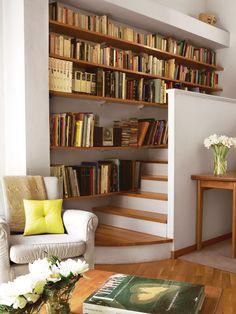Organiza el espacio - Ideas ganar espacio - Decoracion facil - Ideas para ganar espacio, decoracion facil, reciclaje de muebles - CASADIEZ.ES