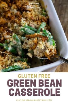This holiday season don't forget the classics like green bean casserole. This gl… – green bean casserole Gluten Free Thanksgiving, Thanksgiving Recipes, Thanksgiving Table, Christmas Recipes, Holiday Recipes, Gluten Free Lasagna, Planning Budget, Menu Planning, Green Bean Casserole