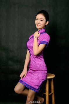 Airline Attendant, Flight Attendant, Ideal Beauty, Asian Beauty, Air Hostage, Airline Uniforms, Best Flights, Cheongsam Dress, Military Women
