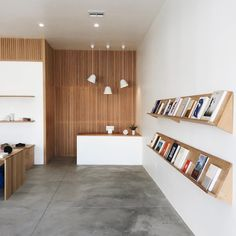 """""""We just visited for the first time. Such a clean space. Do yourself a favor and check this out next time you're in Shop Interior Design, Interior Decorating, Clean Space, Retail Store Design, Retail Space, Office Interiors, Stores, Interior Inspiration, Interior Architecture"""