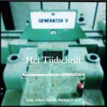 Tijdschrift Generator V | kunst cultuur filosofie en meer……